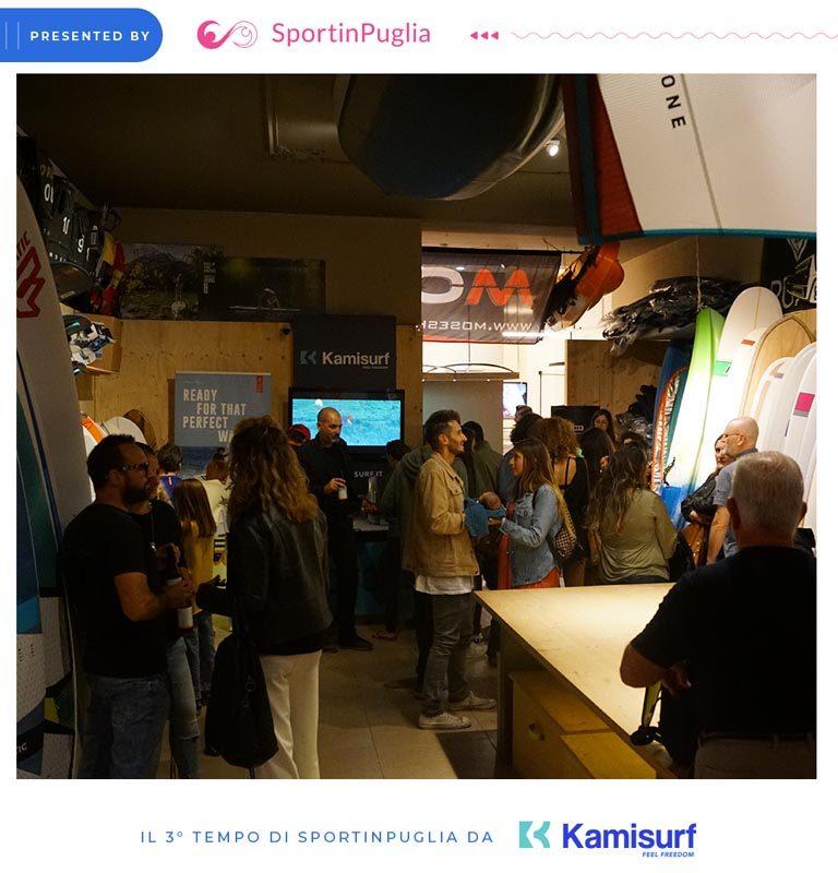SportinPuglia-3Tempo-EventoGlamour-pressoKamisurf